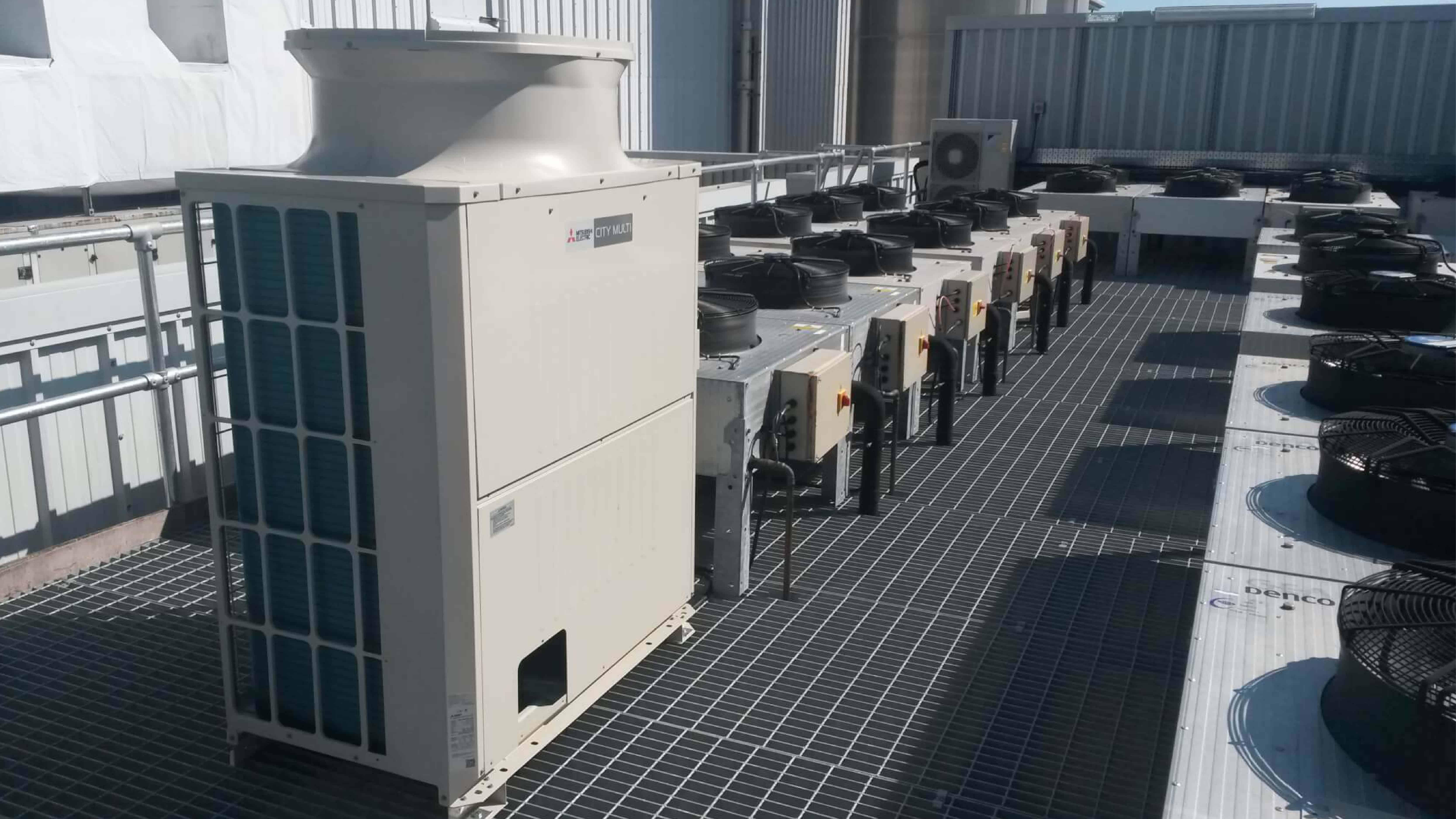 Large HVAC system upgrade