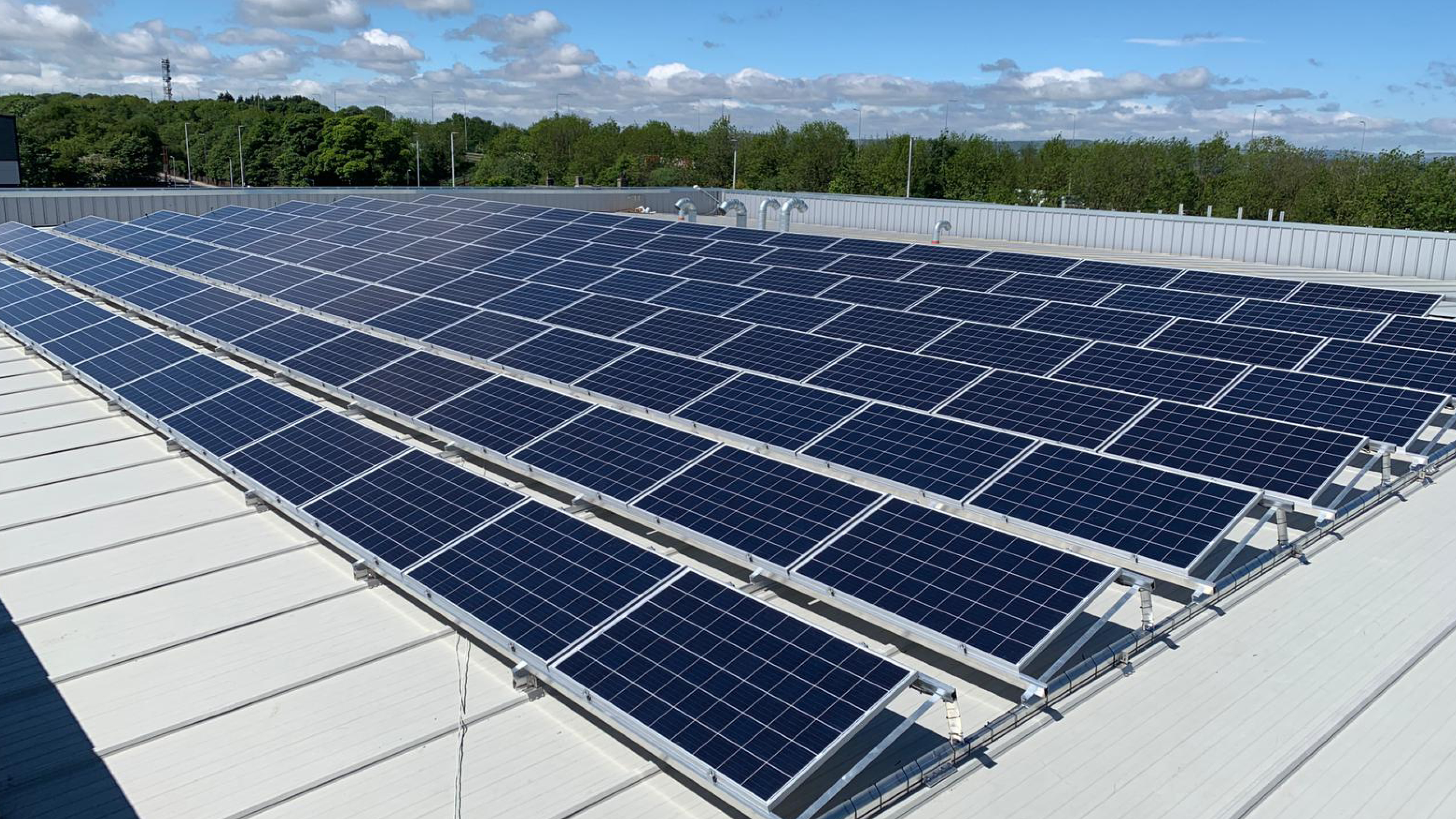 ARH Group complete photovoltaic roof installation