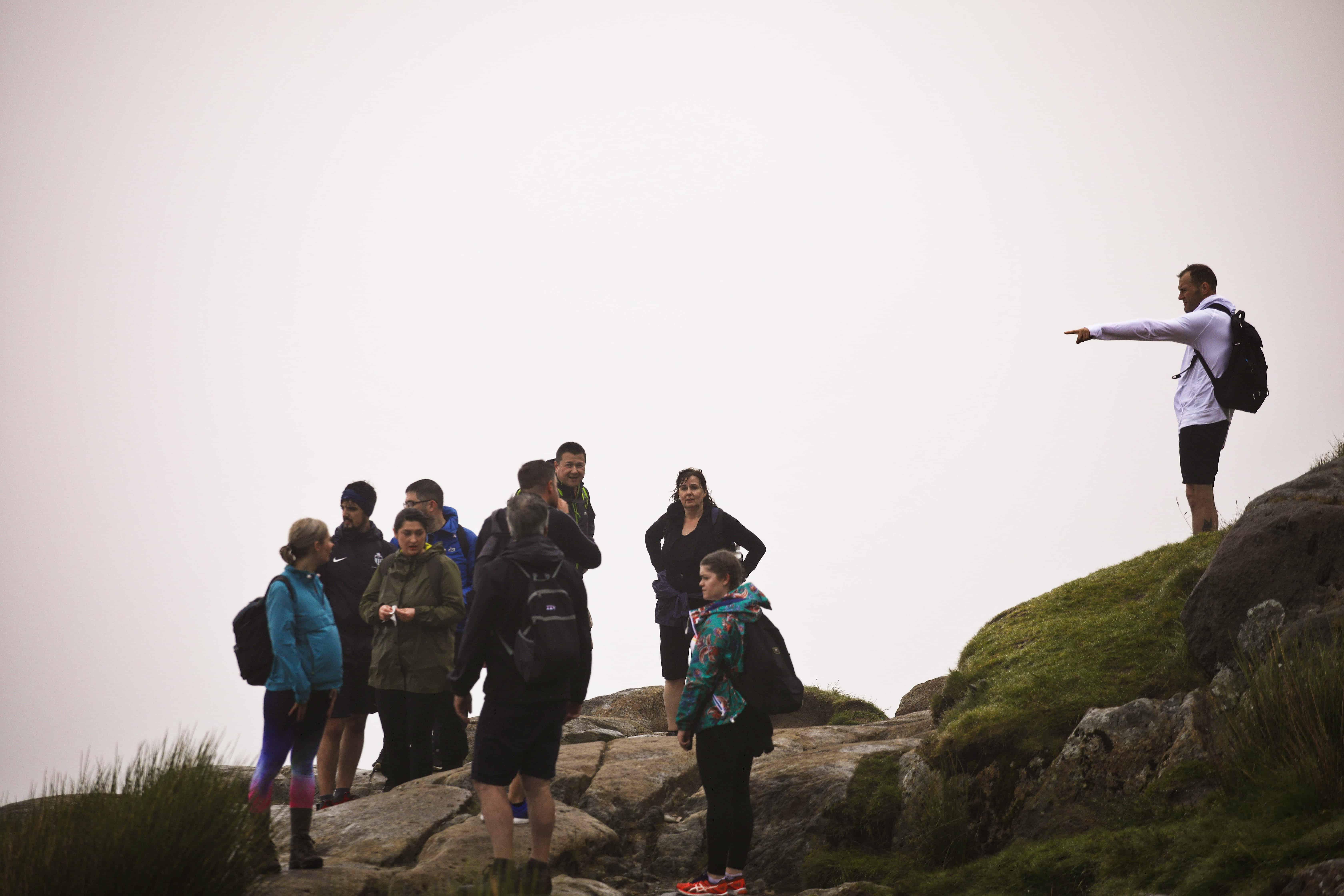 Arh Group Successfully Climb Snowdon Arh Group